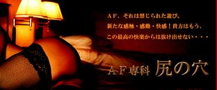 AF専科尻の穴